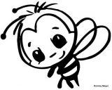abejas para dibujar (10/20)