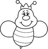 abejas para dibujar (12/20)