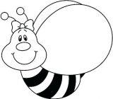 abejas para dibujar (13/20)