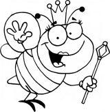 dibujos de abejas para colorear (3/16)