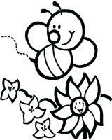 dibujos de abejas para colorear (4/16)