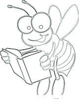 dibujos de abejas para colorear (7/16)