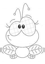 dibujos de abejas para colorear (8/16)