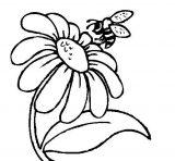 dibujos de abejas para colorear (9/16)