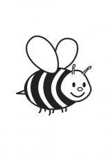 dibujos de abejas para colorear (10/16)