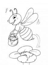 dibujos de abejas para colorear (11/16)