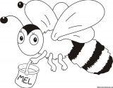 dibujos de abejas para colorear (15/16)