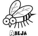 dibujos de abejas para colorear (16/16)
