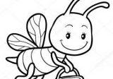 Imágenes de abejas para colorear (8/8)