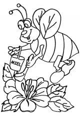 dibujos de abejas para niños (2/8)