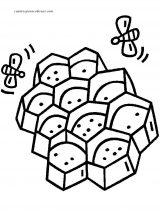 dibujos de abejas para niños (4/8)