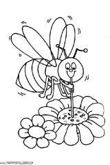 dibujos de abejas para niños (8/8)
