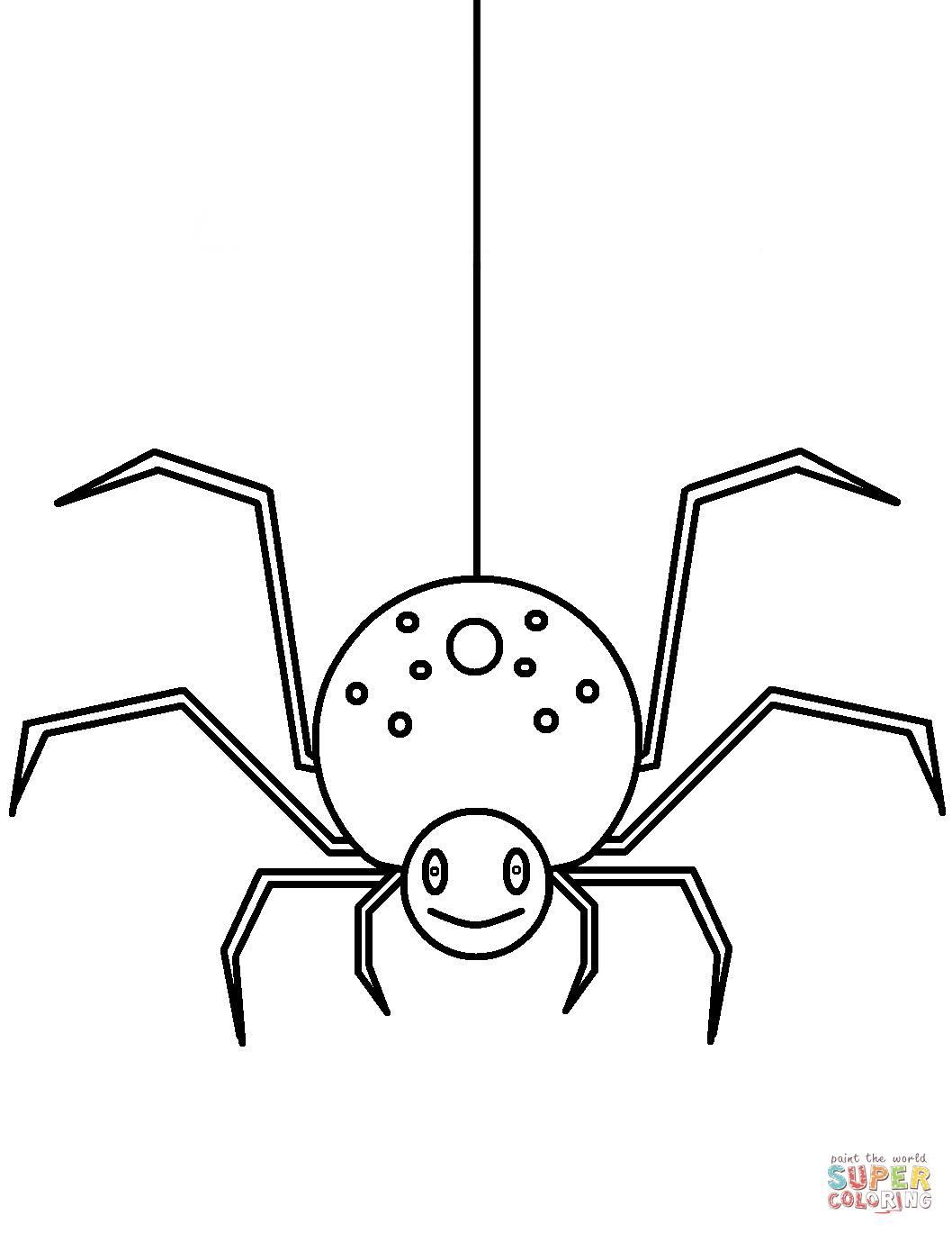 Arañas Para Colorear 2019 Dibujos De Arañas Para Colorear