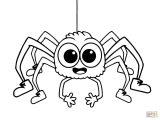 Arañas para colorear (1/4)