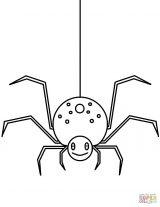 Arañas para colorear (2/20)