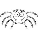 Arañas para colorear (15/20)