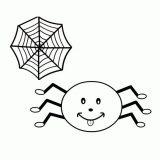 Arañas para colorear (20/20)