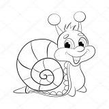 imagenes de caracoles para colorear (13/20)