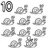 imagenes de caracoles para imprimir (4/8)