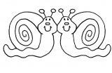 dibujos de caracoles para colorear (3/20)