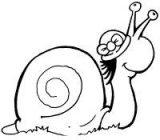 dibujos de caracoles para colorear (7/20)