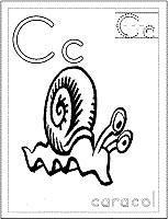dibujos de caracoles para colorear (8/20)