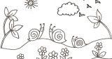 dibujos de caracoles para colorear (16/20)