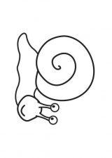dibujos de caracoles para colorear (19/20)