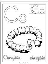 Dibujos de ciempiés para colorear (10/20)