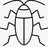 Imágenes de cucarachas para colorear (16/16)