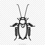 Cucarachas para colorear e imprimir (4/16)