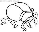 Escarabajos para colorear (7/12)