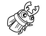 Dibujos de escarabajos para colorear (2/12)