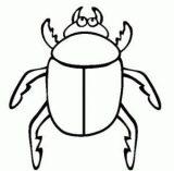 Dibujos para colorear de escarabajos (7/12)