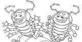Dibujos para colorear de escarabajos (10/12)