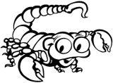 Imágenes de escorpiones para colorear (9/12)