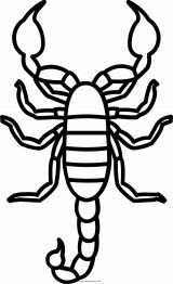 Dibujos de escorpiones para imprimir (1/12)