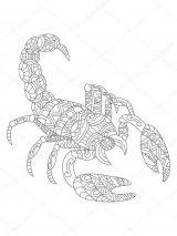 Dibujos de escorpiones para imprimir (4/12)