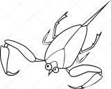 Dibujos de escorpiones para imprimir (10/12)