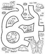 Dibujos para colorear de gusanos de seda (7/8)