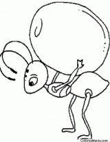 Hormigas para colorear (15/16)