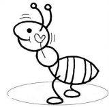 Dibujos de hormigas para colorear (1/16)