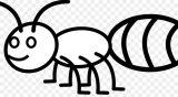 Dibujos de hormigas para colorear (11/16)