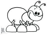 Imágenes de hormigas para colorear (13/16)