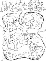 Imágenes de hormigas para colorear (15/16)