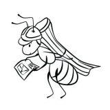 Hormigas para pintar (8/12)