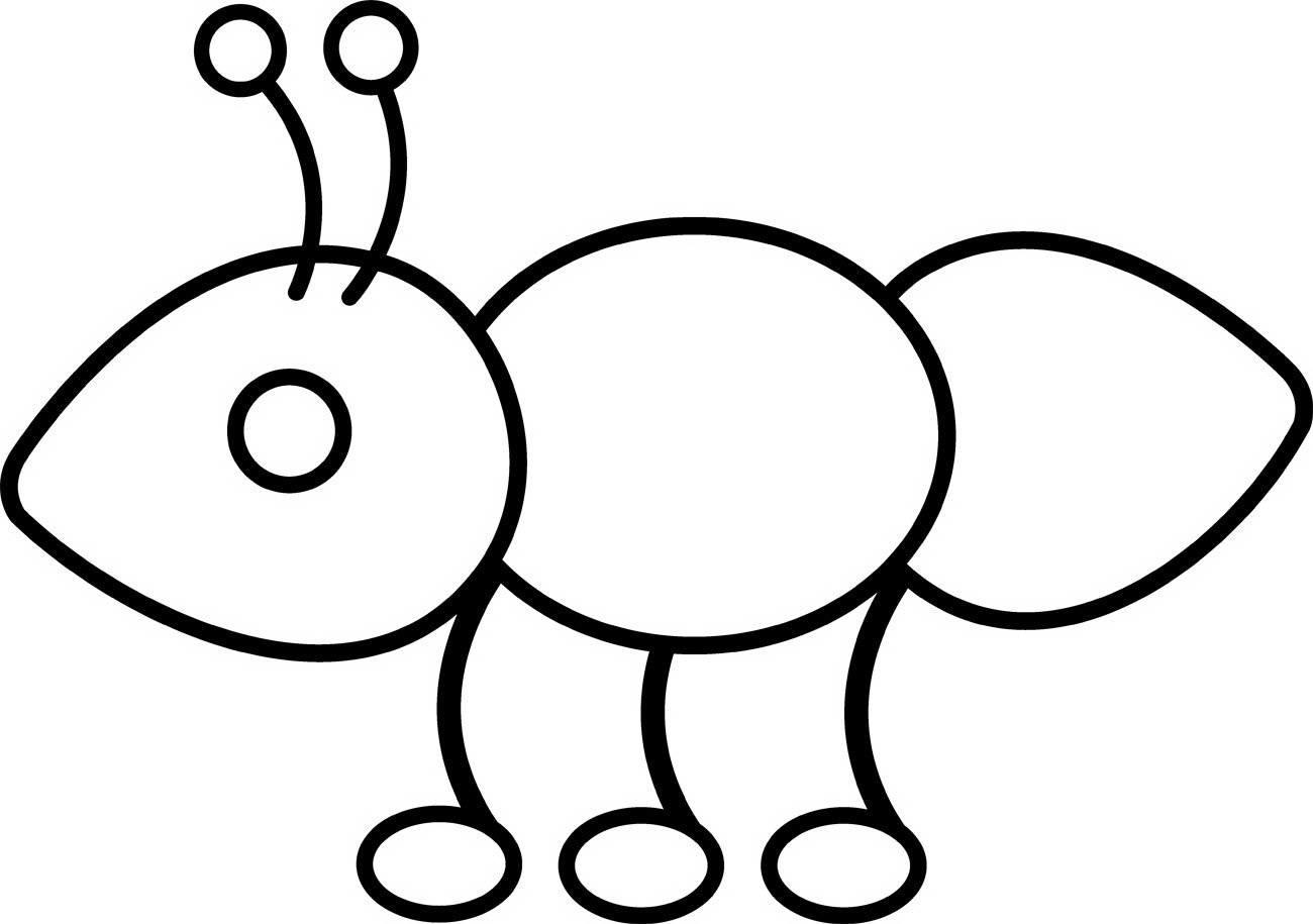 Hormigas Para Colorear 2019 Dibujos De Hormigas Para Colorear