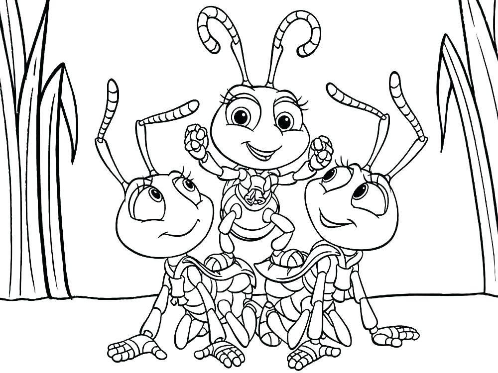 Hormigas Para Colorear 2019