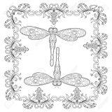 Imágenes de libélulas para colorear (3/16)