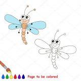 Imágenes de libélulas para colorear (11/16)